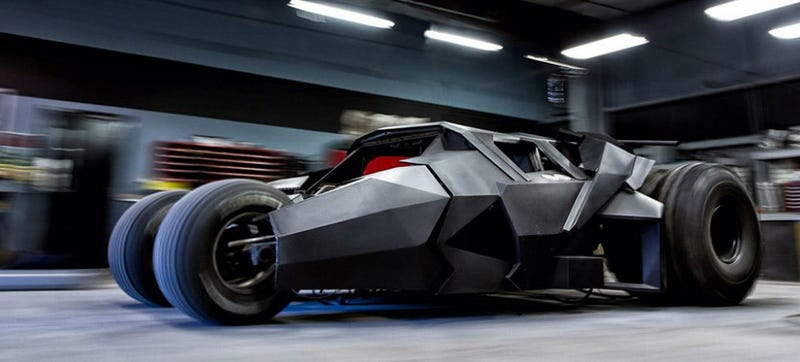 Organizers Say Tumbler Batmobile Replica Too Shitty To Race The Gumball