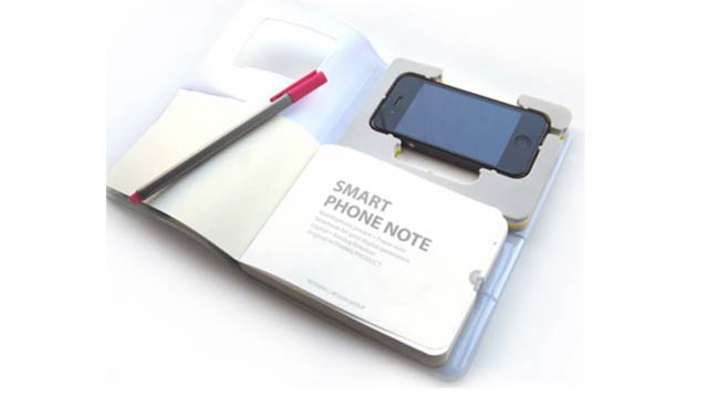 Smart Phone Note iPhone 4 Case Is Actually Quite Smart