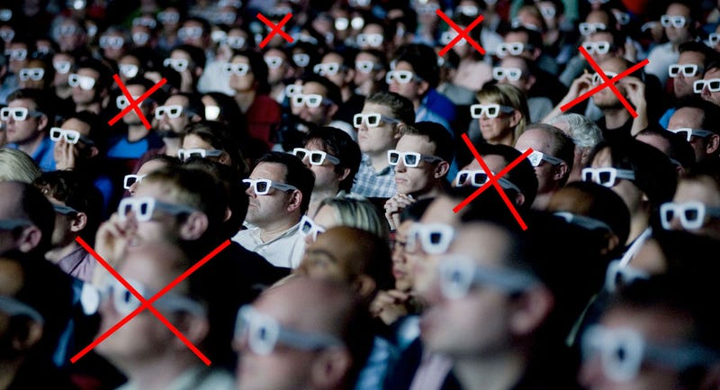 Report: 12% Of British People Can't See 3D Properly
