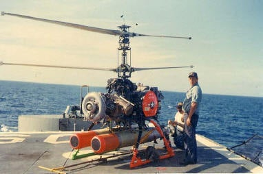 Meet DASH, A Navy Sub-Hunting Drone From The '60s
