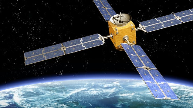 Are satellite orbits being compromised by global warming?
