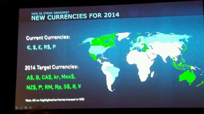 Loads Of Local Currencies Coming To Steam