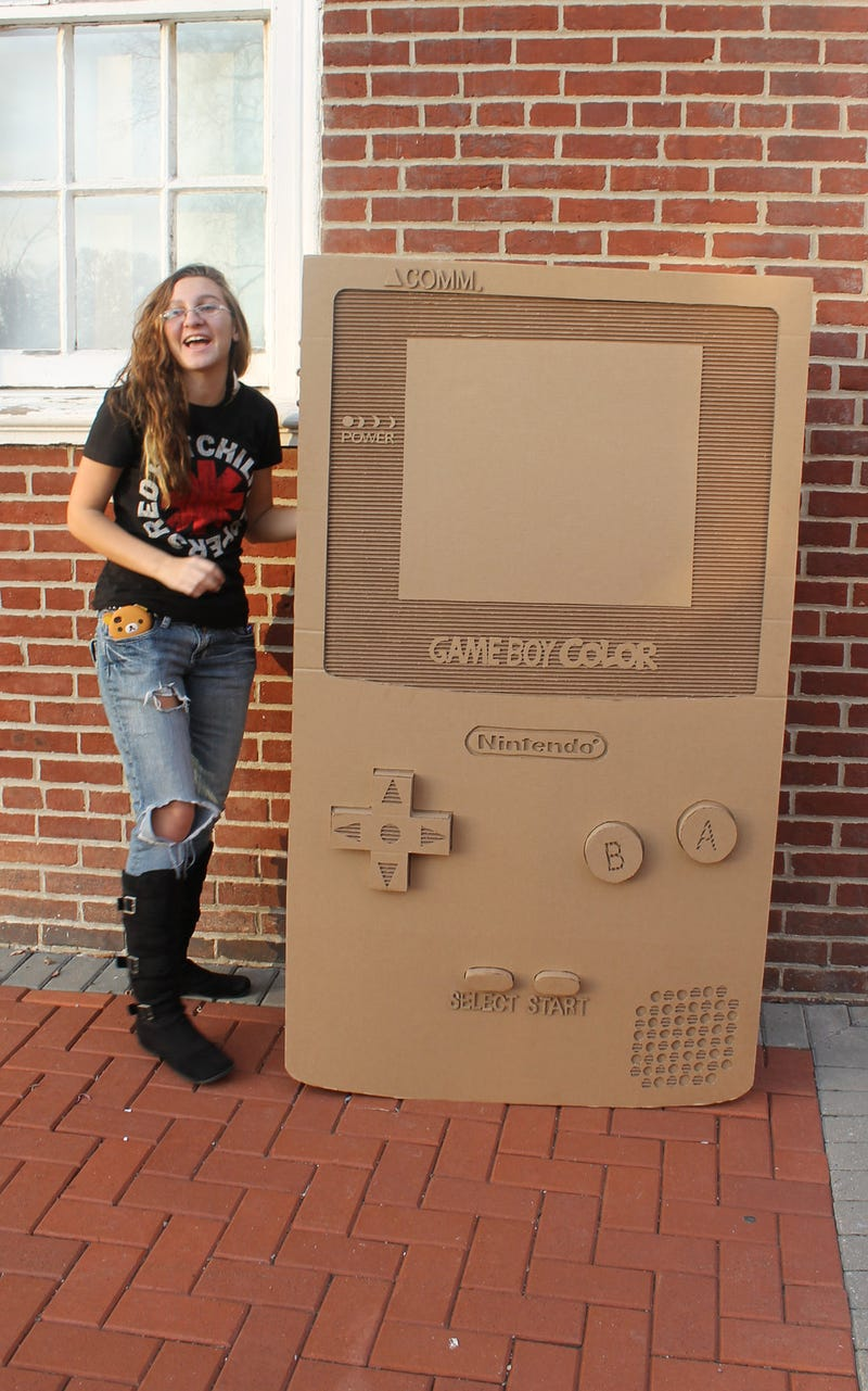 That is One Giant, Over-Sized Game Boy You've Got There