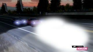 Forza Horizon Glowing Car