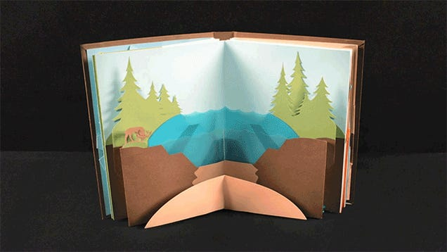 All Science Should Be Taught With Pop-Up Books Like This One