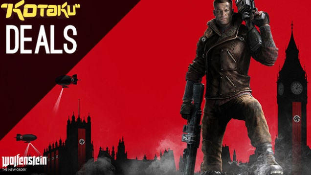 Deals: Wolfenstein, Last of Us Remastered, Whole Lotta Logitech, LEGO