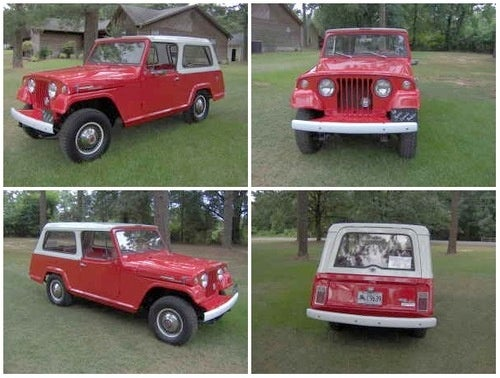 For $6,500, Girl, I'm Just a Jeepster For Your Love