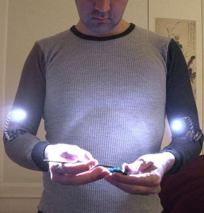 DIY Forearm Lights Illuminate Your Tinkering