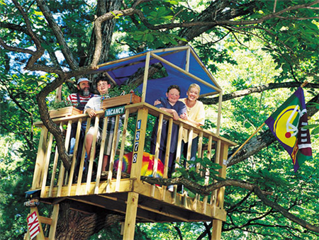 Build a treehouse for How to build a treehouse step by step