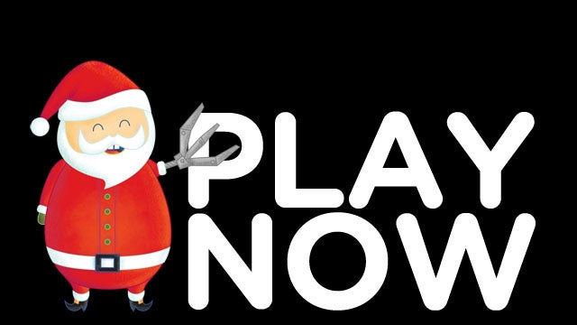 Play with Gizmodo Gallery's Santa Claw and Win Prizes RIGHT NOW