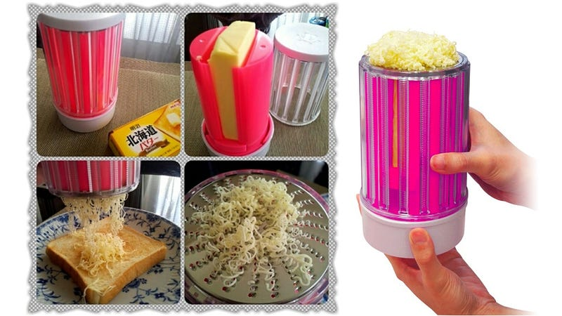 The World Is a Better Place With a Butter-Shredding Grater