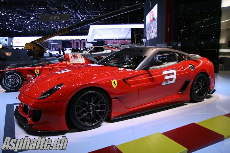 Ferrari 599XX: First Live Shots Of New Track-Ready Stallion!