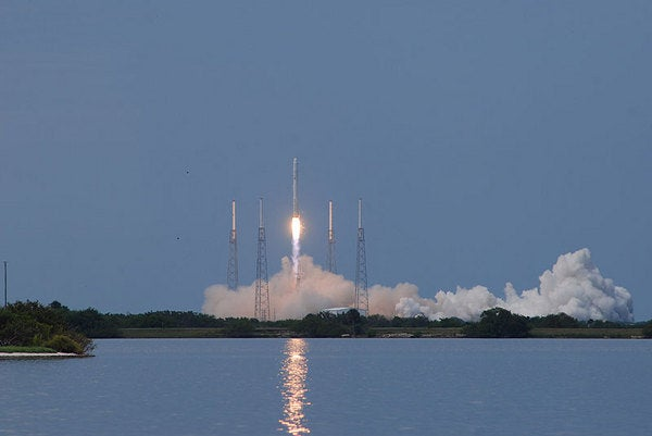 Video of SpaceX Falcon 9 Successful Launch