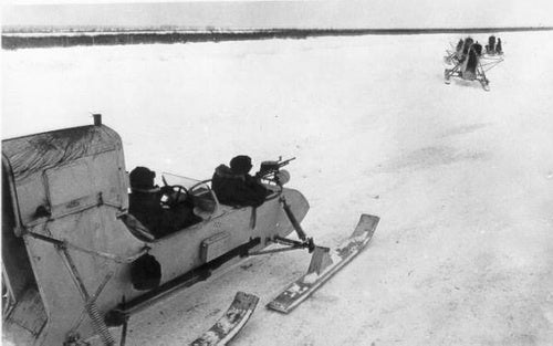 Russian Aerosleds And Snowmobiles