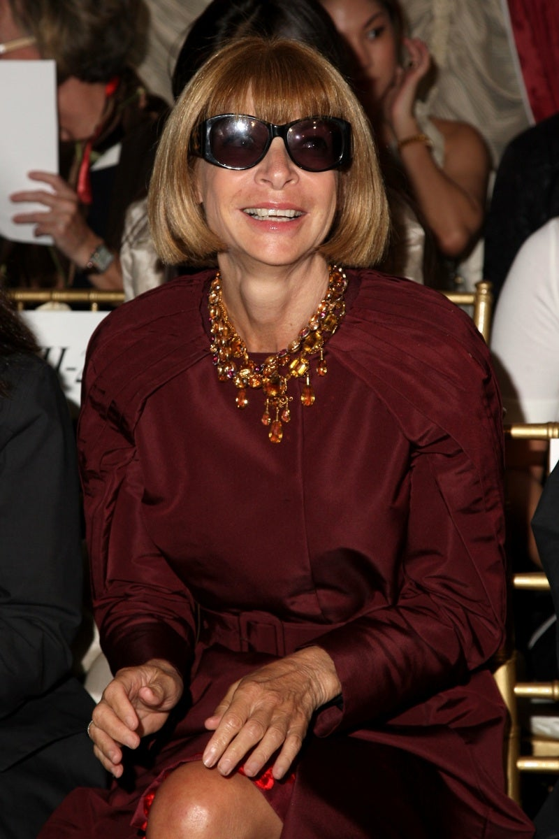 The Many, Many Smiles of Anna Wintour