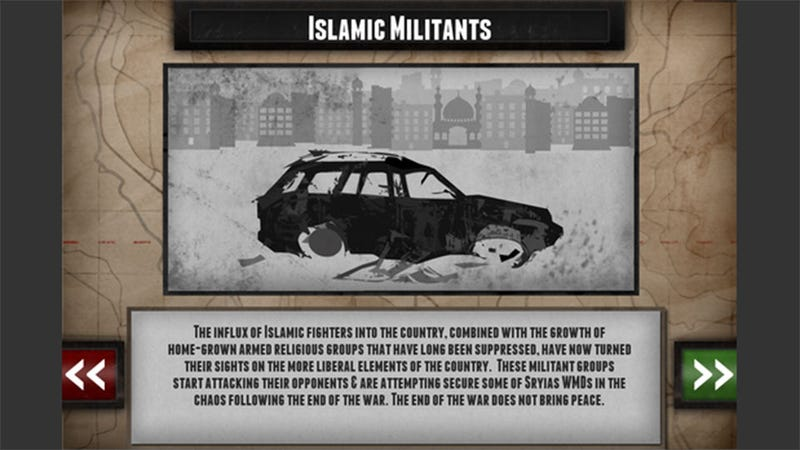 A Serious Game About The Syrian Conflict Has Been Barred From The App Store