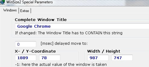 Winsize2 Remembers Your Preferred Window Sizes