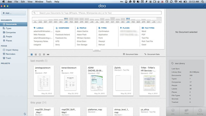Doo Automatically Organizes Your Documents, Syncs Them to the Cloud and Across Multiple Computers