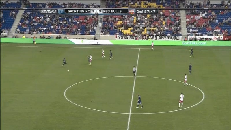 New York Red Bulls Fans Struggle With Spelling