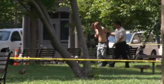 """Shirtless Gunman Near White House Wanted to """"Fire a Couple of Shots"""""""