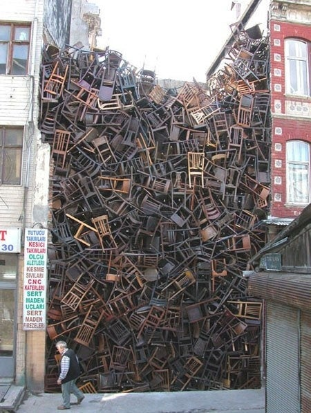 And Now On This Episode Of Hoarders: People Who Love Chairs Too Much