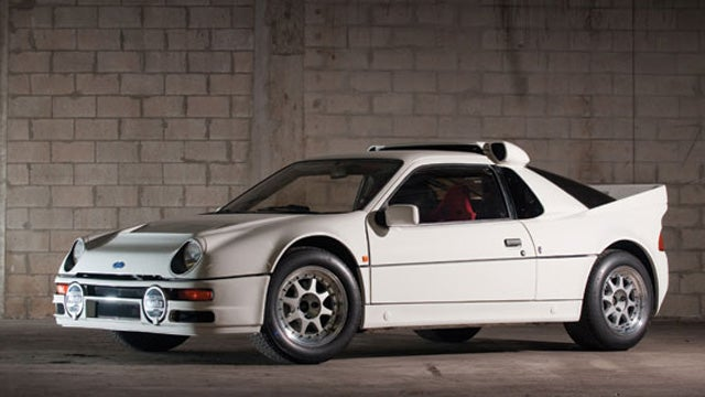 One of 24 Ford RS200 Evolution to hit auction block