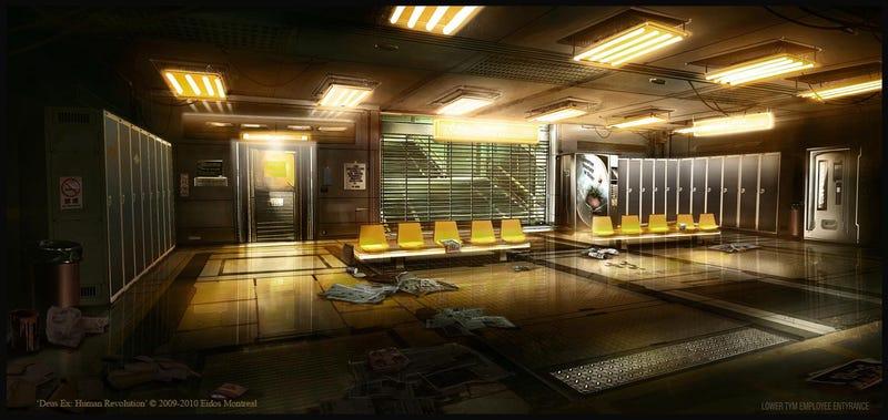 This Isn't Office Space. It's Deus Ex.