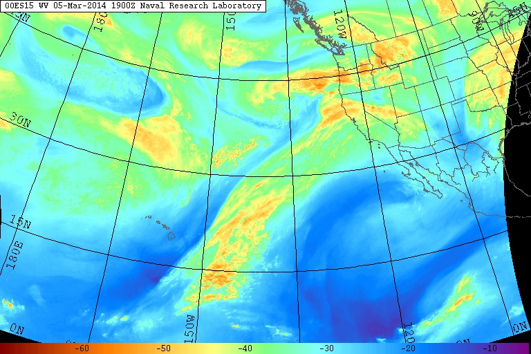 Pacific Atmospheric River Does Little to Alleviate California Drought