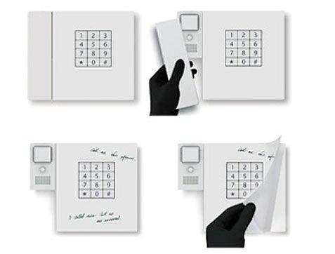 Memo Pad Phone Incorporates Message-Taking Paper