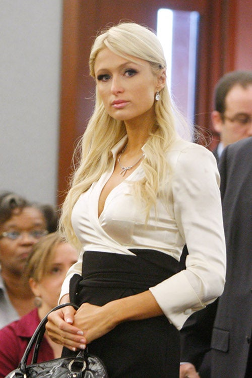Paris Finally Admits Cocaine Was Hers, Wears Special Costume In Court