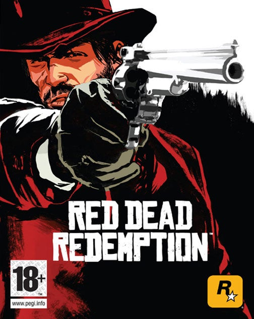 Red Dead Redemption Box Art Redeems Stylishly