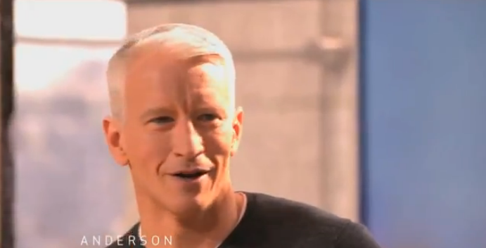 Anderson Cooper's Cell Phone Is Covered in Poop