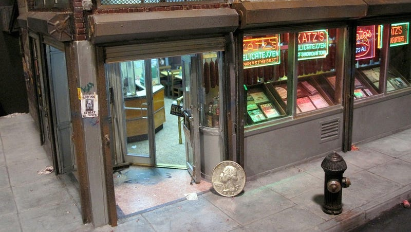 Giant Quarter or Tiny Deli?