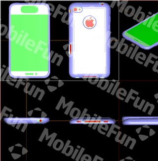 Possible iPhone 5 Case Suggests That the Next iPhone Will Have a Big Honking Screen, Big Honking Home Button and a Curved Back