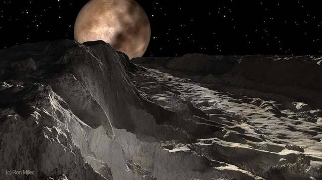 Stunning Pluto Art Makes Me Want to Hike the Norgay Montes