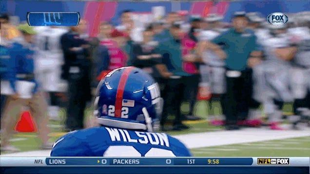 David Wilson Scores TD, Does Double Backflip