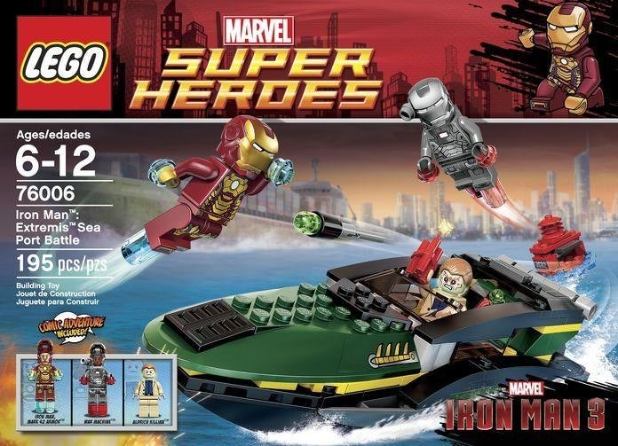 New Lego sets offer a peek into Iron Man 3