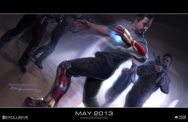 Does this Iron Man 3 concept art spoil Tony Stark's new secret weapon?