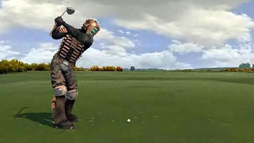 Dead Woods: EA's Surreal Dead Space Golf Cameo