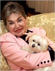 Leona Helmsley's Dog May Not Talk, But He Can Sort Of Explain The Recession
