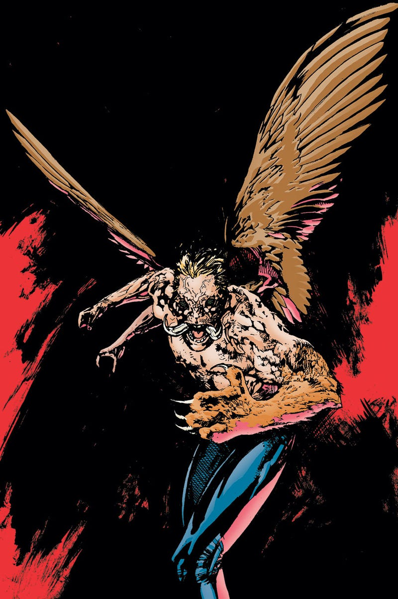 Comic scribe Jeff Lemire takes us to the freaktacular worlds of Frankenstein and Animal Man