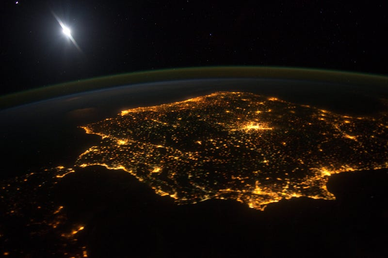 Iberia from the ISS