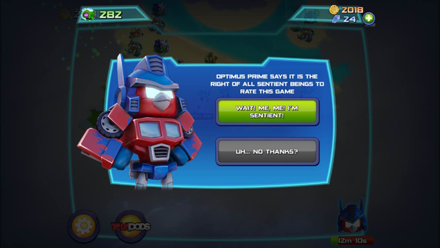Angry Birds Transformers Is Out Today. Fans Should Grab It.