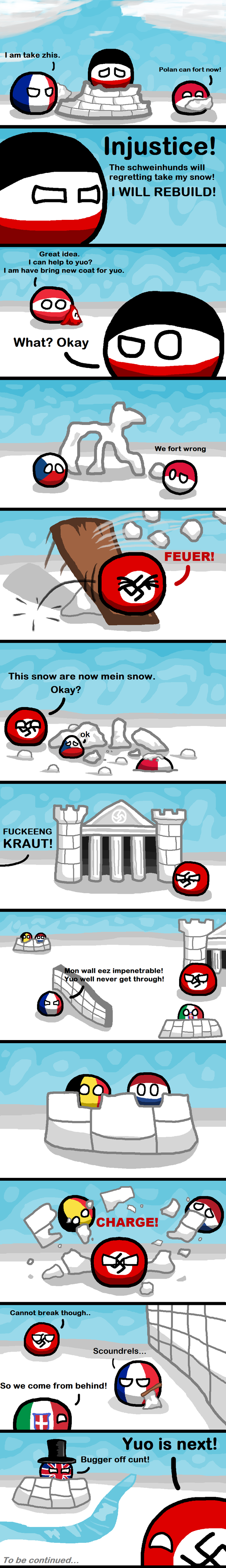 Daily Polandball: WWII, in the Snow