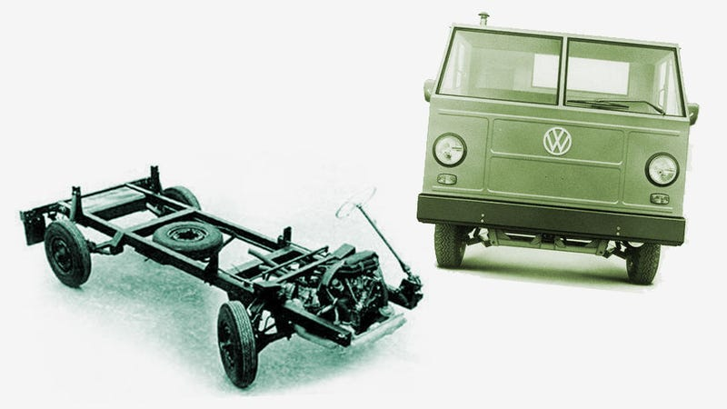 Another Weird Air-Cooled VW You've Never Heard Of: Basistransporter