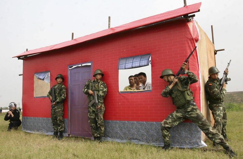 China Anti-Terrorist Plan Includes Flamethrowers, Segways, Chuck Norris Clones