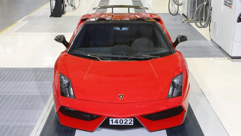 This Is The Last Lamborghini Gallardo Ever