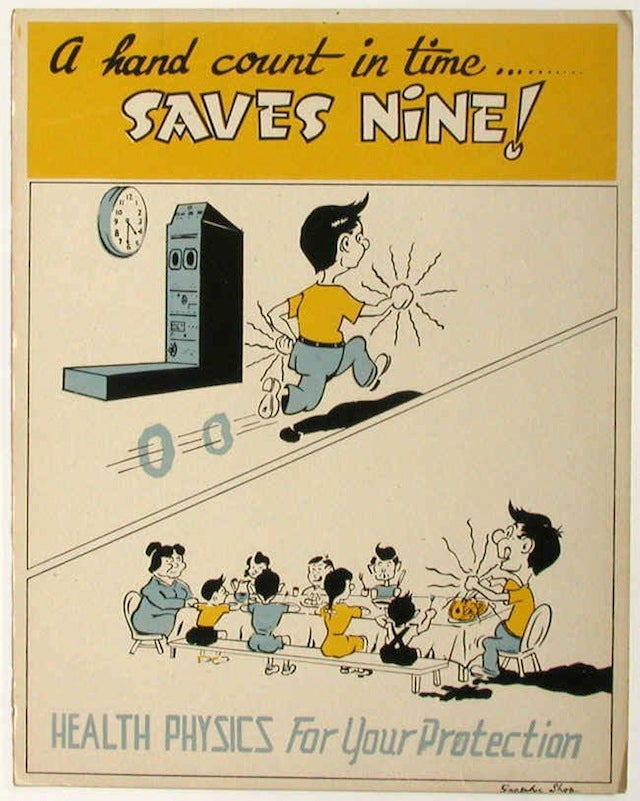 Early Nuclear Safety Posters Are Perky and Disturbing
