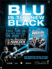 Men In Black Becomes First International BD-Live Title