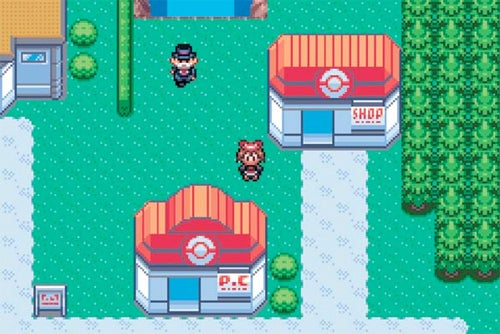 While Pokemon Come and Go, The Healing Center Stays the Same